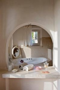 Chambre étage salle de bain baigneoire